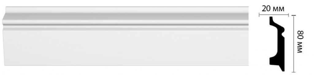 Плинтус потолочный DECOMASTER D122ДМ