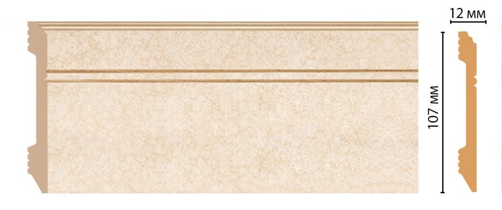 Плинтус напольный DECOMASTER D105-18DДМ