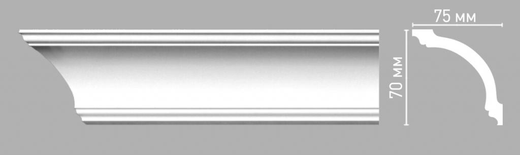 Плинтус потолочный DECOMASTER 96260/60