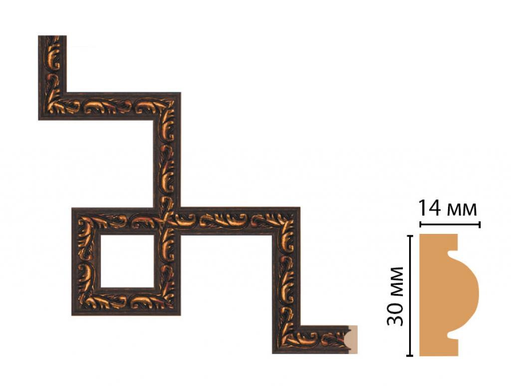 Декоративный угловой элемент DECOMASTER 157-3-966