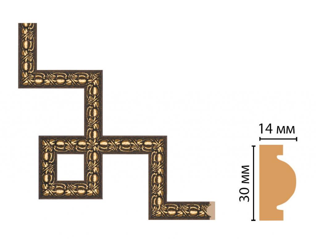 Декоративный угловой элемент DECOMASTER 157-3-56
