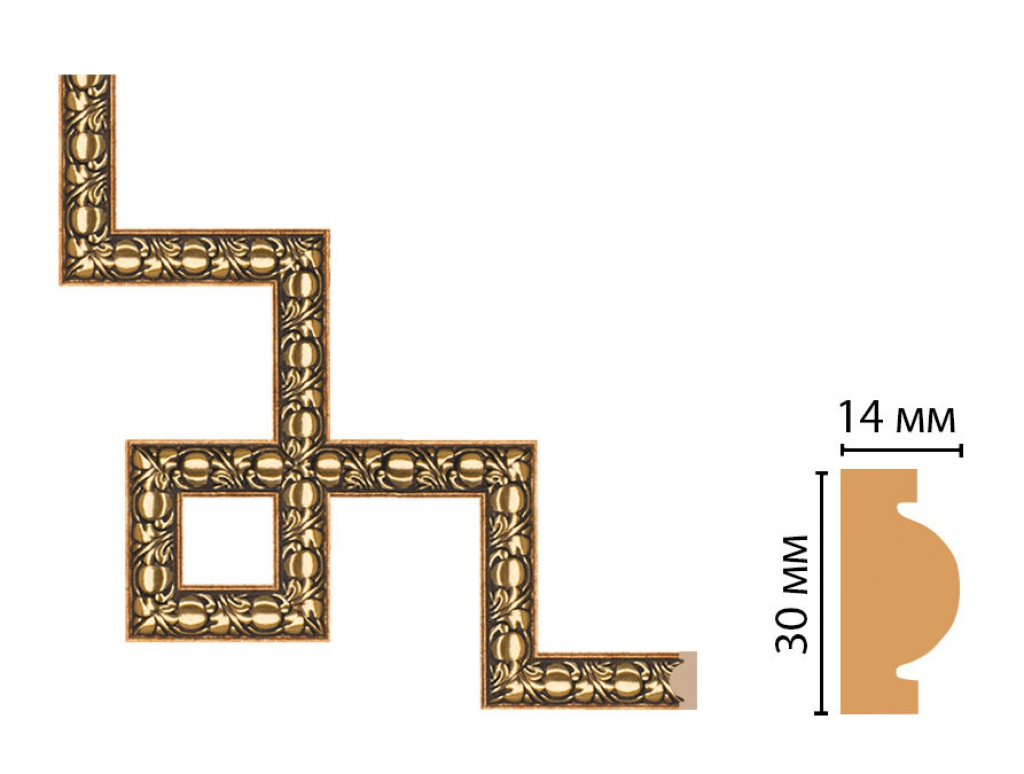 Декоративный угловой элемент DECOMASTER 157-3-57