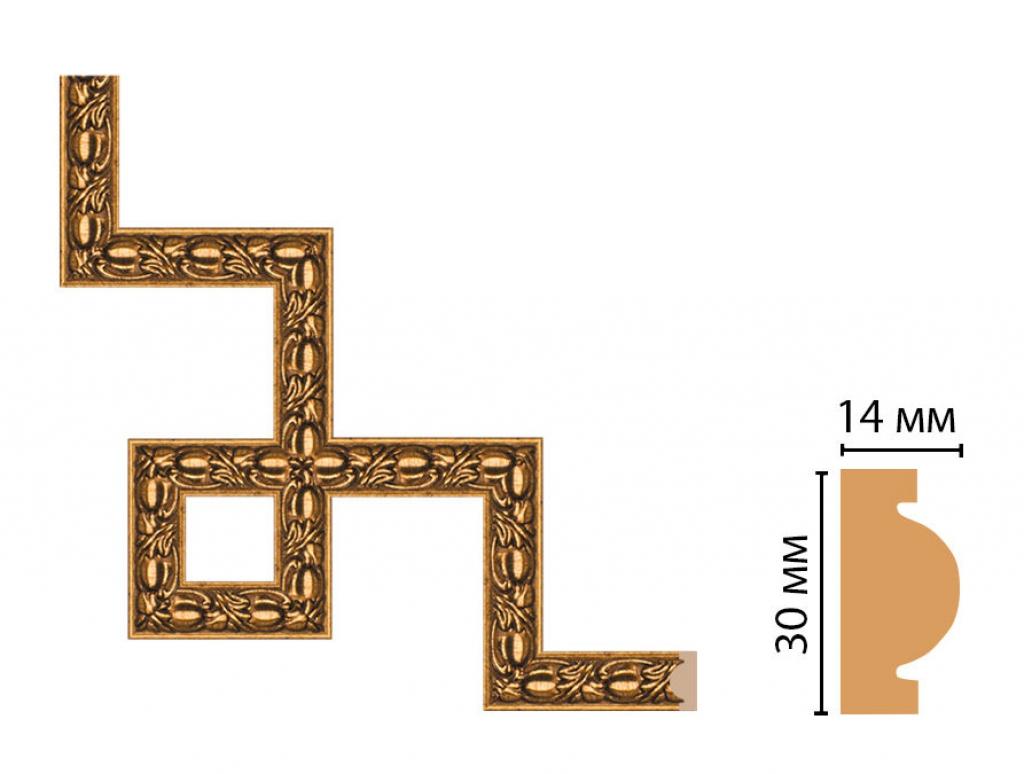 Декоративный угловой элемент DECOMASTER 157-3-58