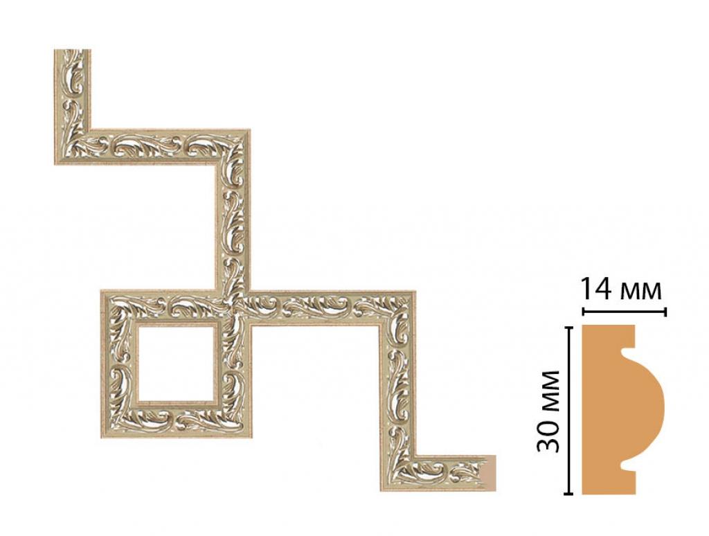 Декоративный угловой элемент DECOMASTER 157-3-59