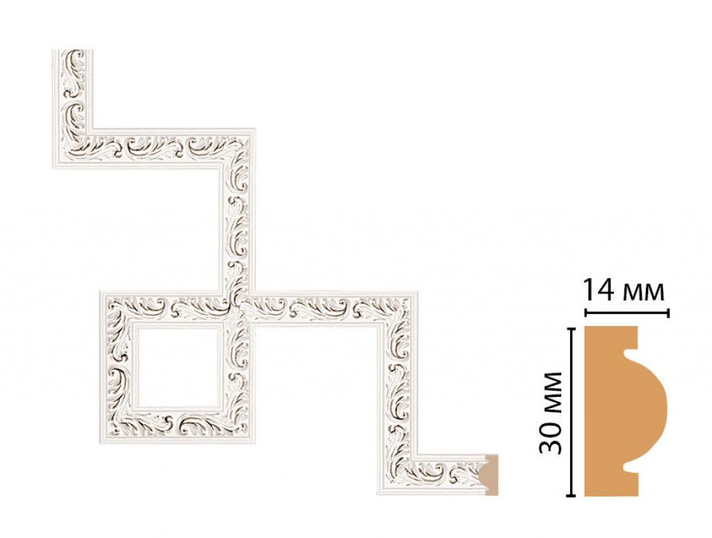 Декоративный угловой элемент DECOMASTER 157-3-60