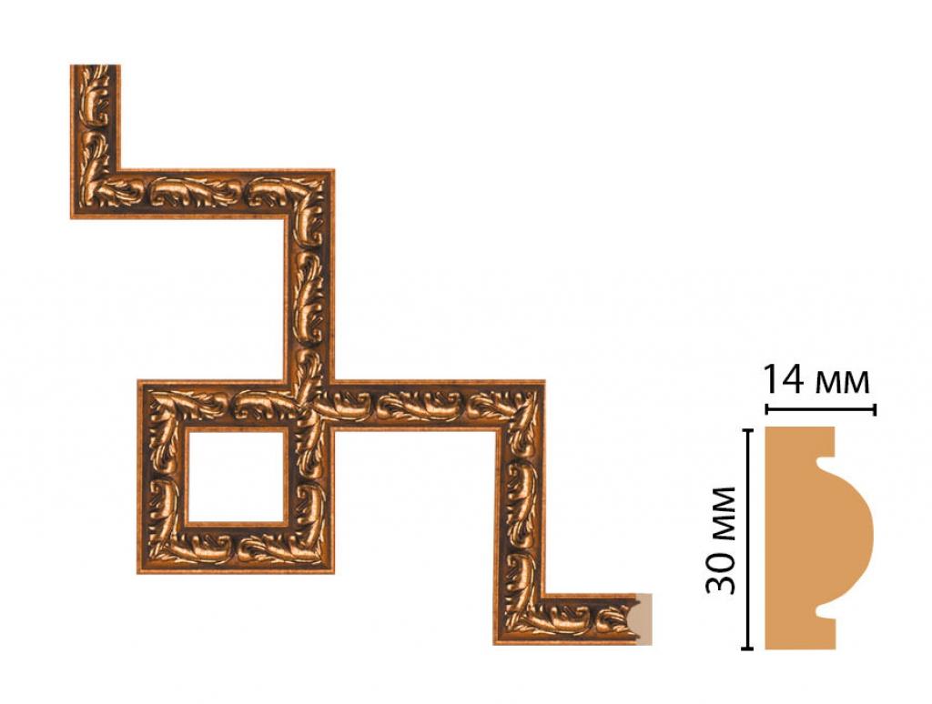 Декоративный угловой элемент DECOMASTER 157-3-1223