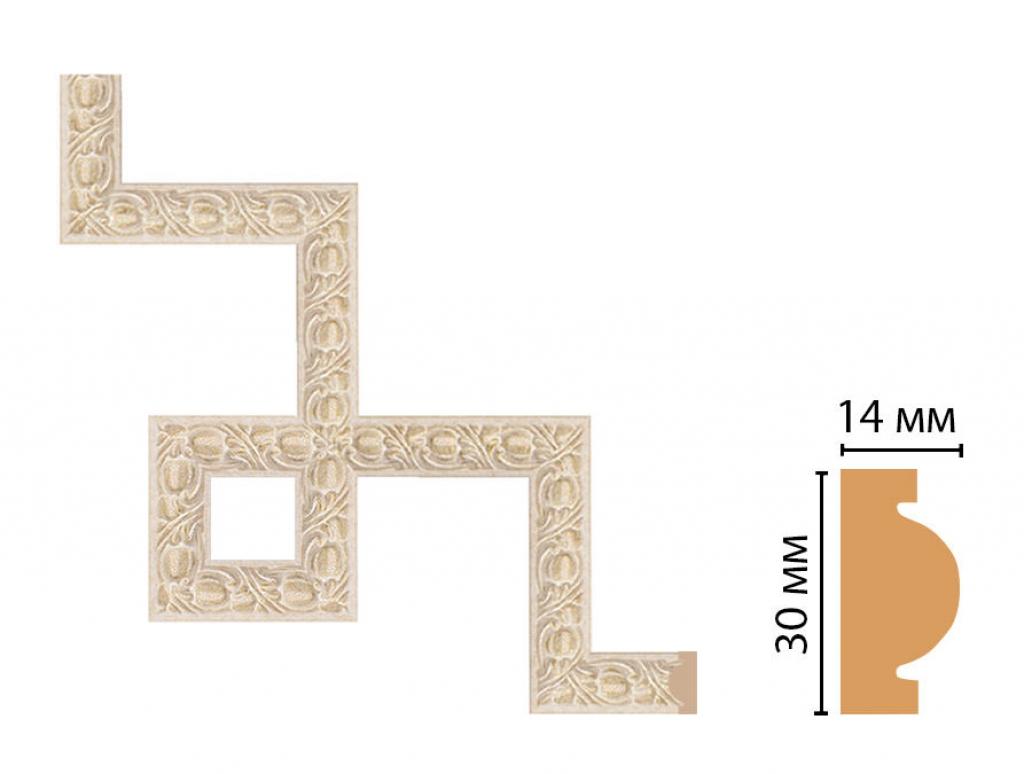 Декоративный угловой элемент DECOMASTER 157-3-18D