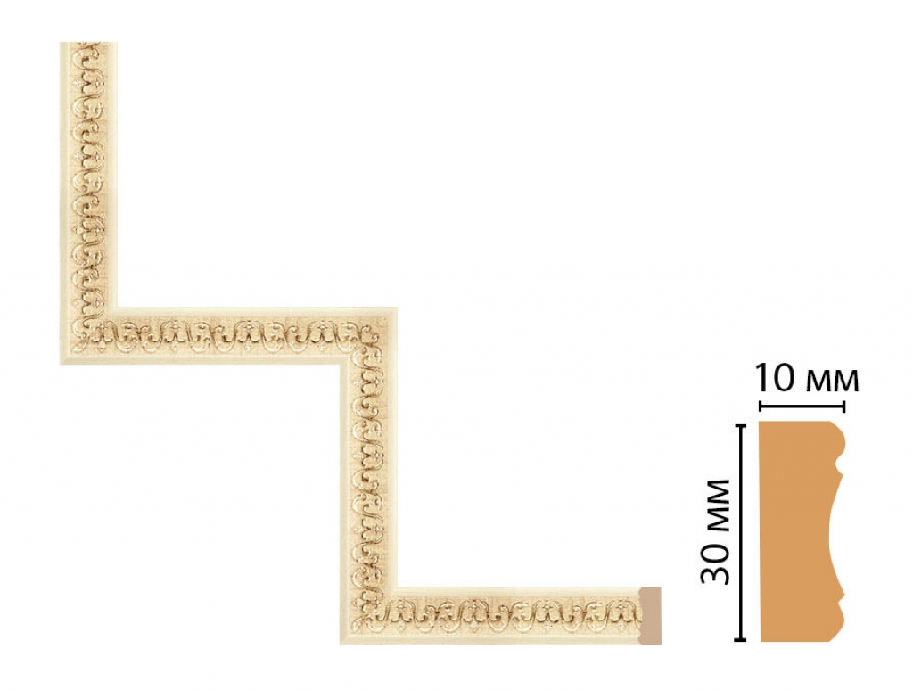 Декоративный угловой элемент DECOMASTER 165-1-1028