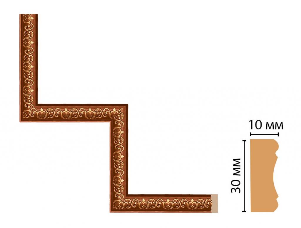 Декоративный угловой элемент DECOMASTER 165-1-767