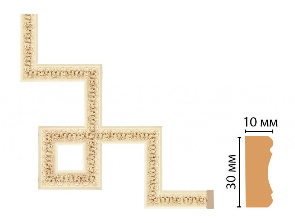 Декоративный угловой элемент DECOMASTER 165-3-1028