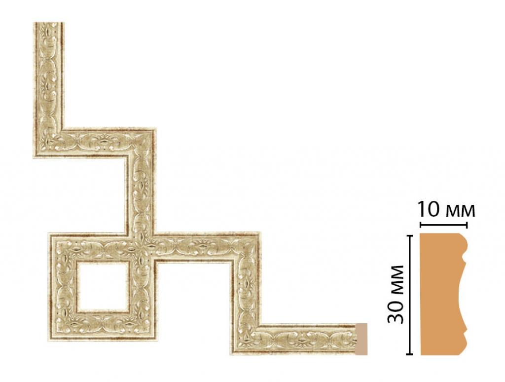 Декоративный угловой элемент DECOMASTER 165-3-127