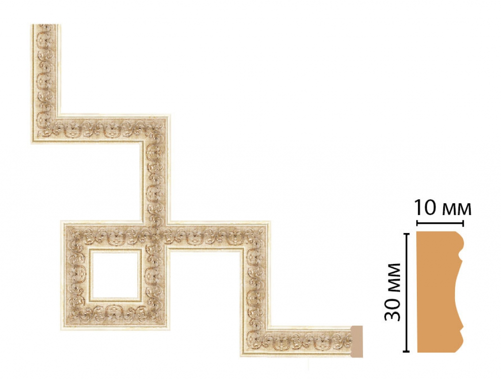 Декоративный угловой элемент DECOMASTER 165-3-281