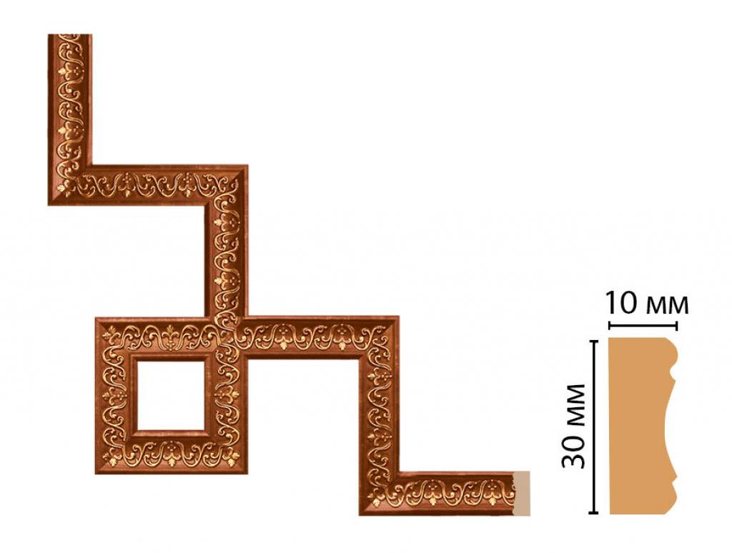 Декоративный угловой элемент DECOMASTER 165-3-767