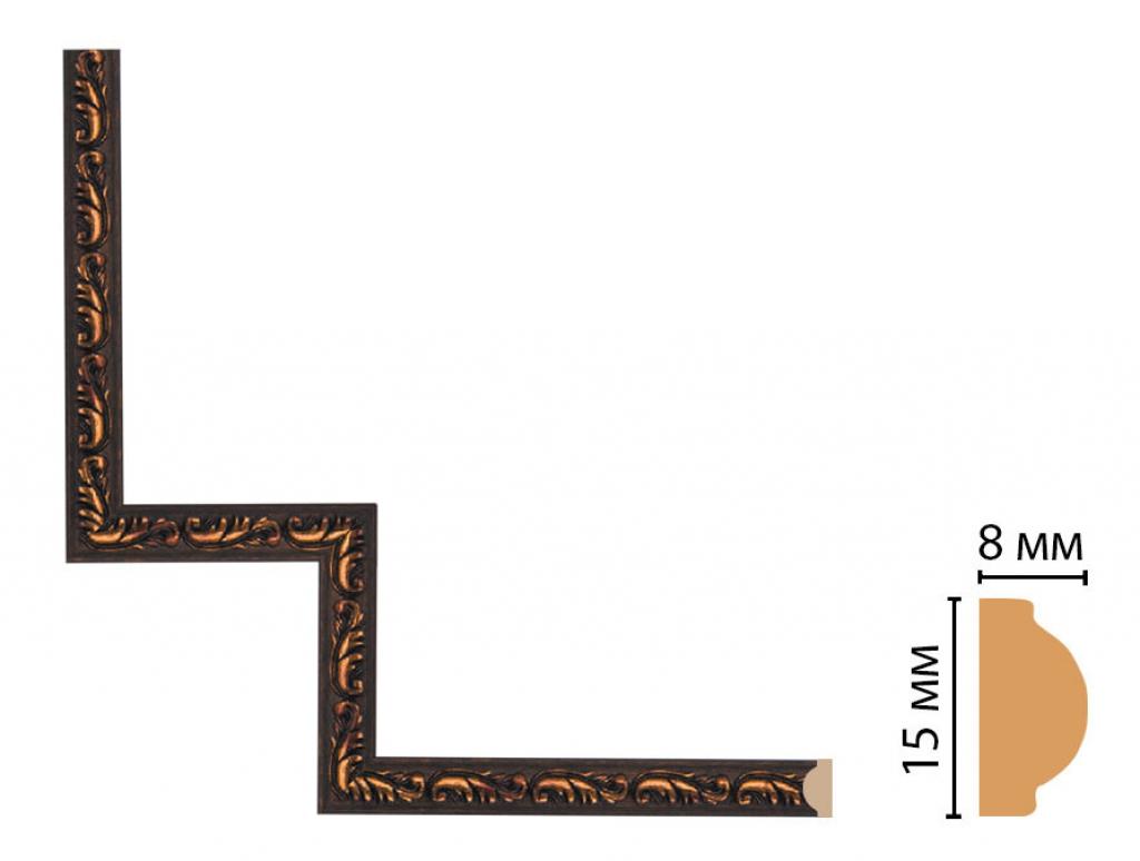 Декоративный угловой элемент DECOMASTER 130-1-966
