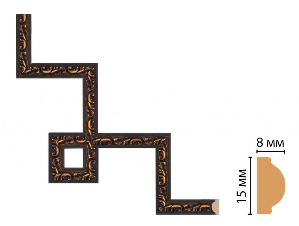 Декоративный угловой элемент DECOMASTER 130-3-966