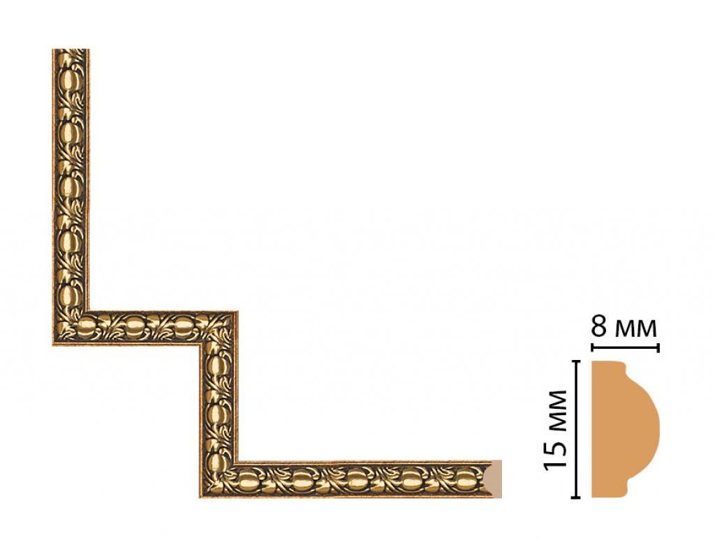 Декоративный угловой элемент DECOMASTER 130C-1-57