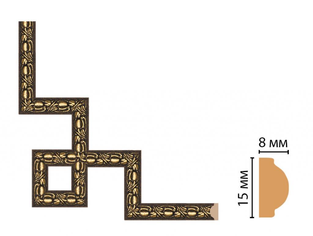 Декоративный угловой элемент DECOMASTER 130C-3-56