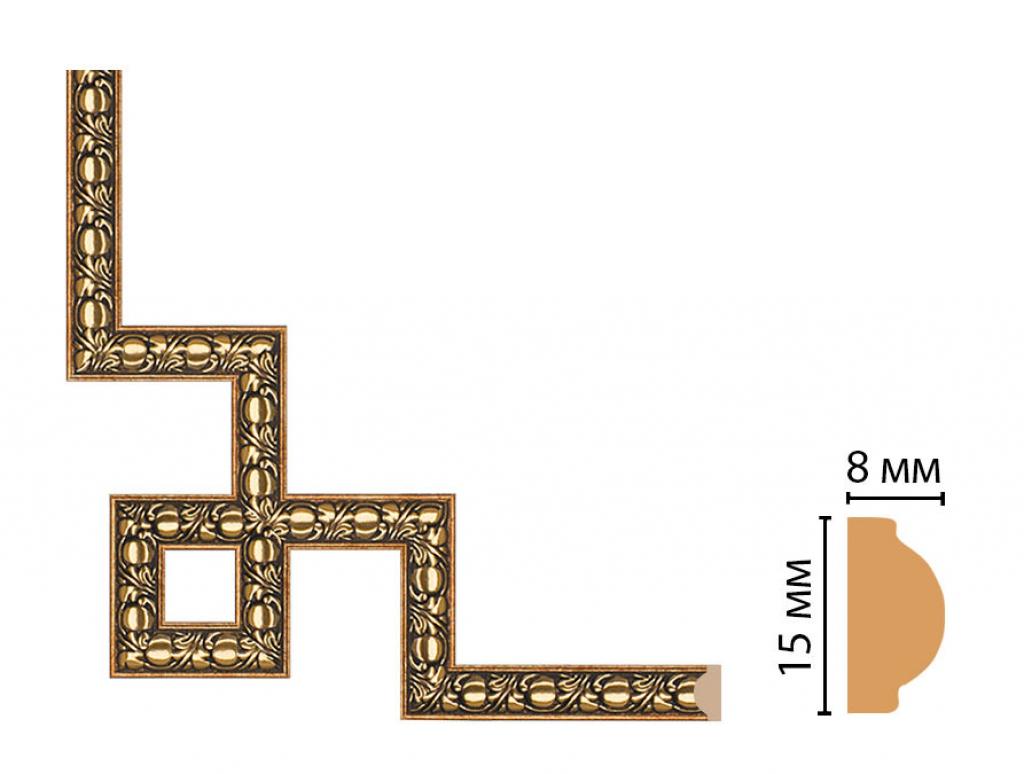 Декоративный угловой элемент DECOMASTER 130C-3-57