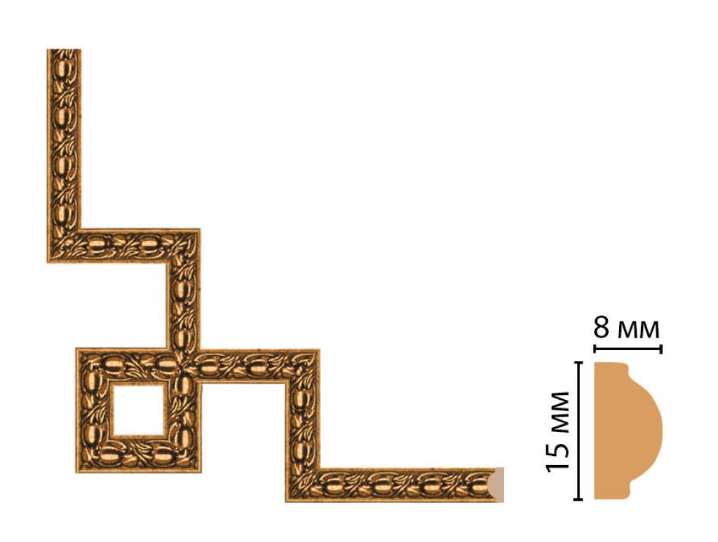 Декоративный угловой элемент DECOMASTER 130C-3-58