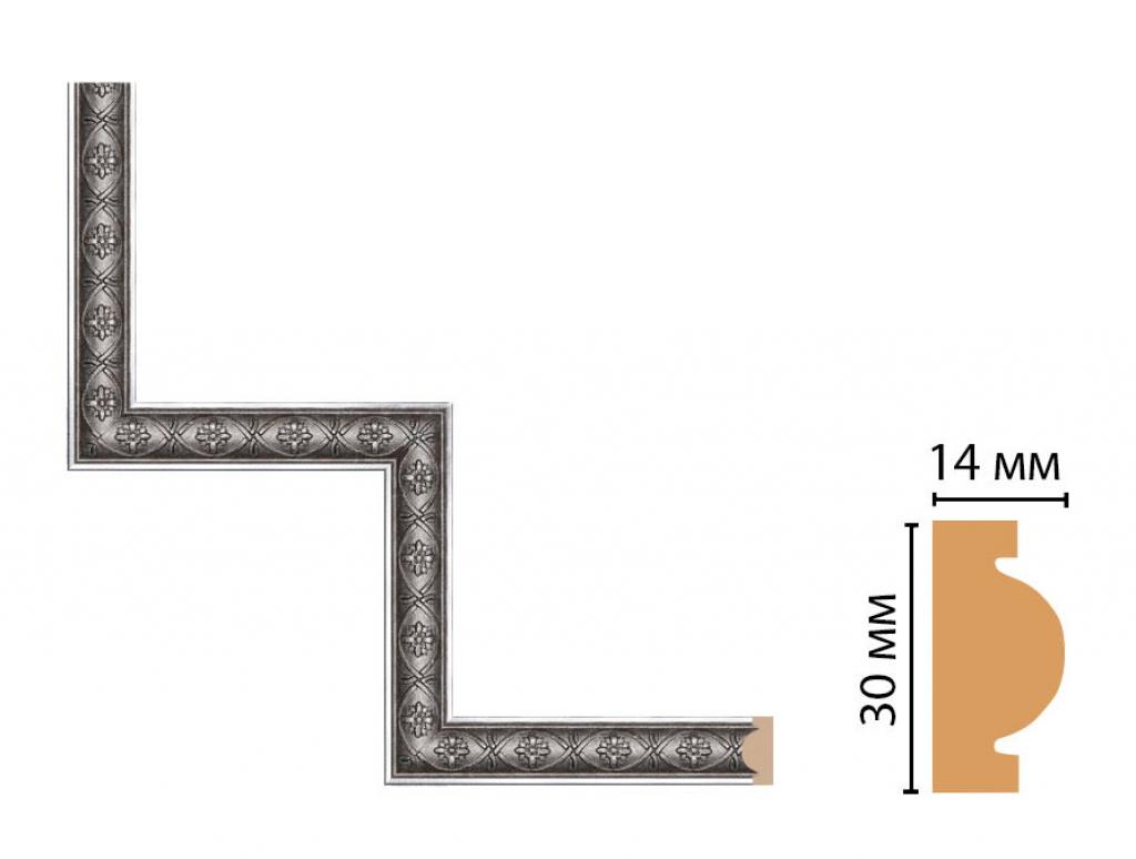 Декоративный угловой элемент DECOMASTER 157-1-55