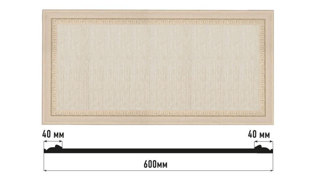 Декоративная панно DECOMASTER D3060-18D