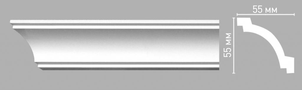 Плинтус потолочный DECOMASTER 96516