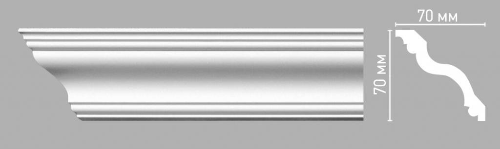 Плинтус потолочный DECOMASTER 96514/60