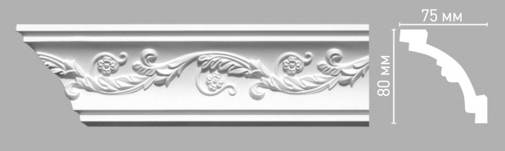 Плинтус потолочный DECOMASTER 95020/39