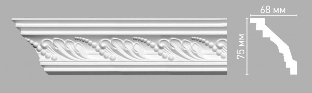 Плинтус потолочный DECOMASTER 95021/45