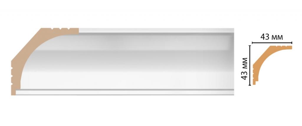 Карниз потолочный DECOMASTER D109-114