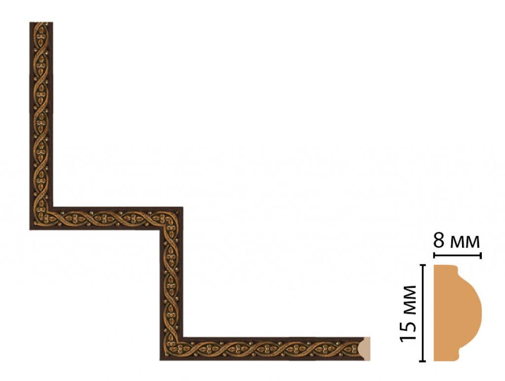 Декоративный угловой элемент DECOMASTER 130-1-1