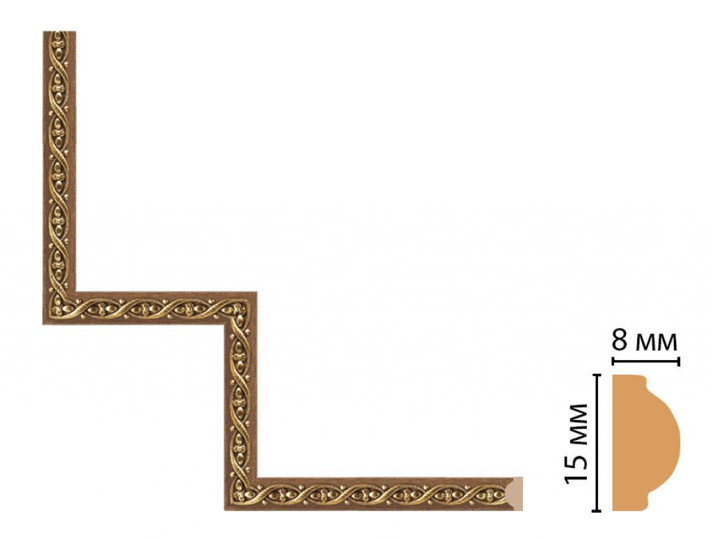 Декоративный угловой элемент DECOMASTER 130-1-3