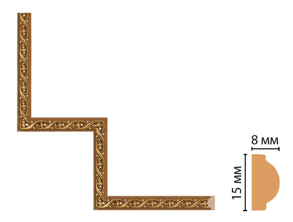 Декоративный угловой элемент DECOMASTER 130-1-4