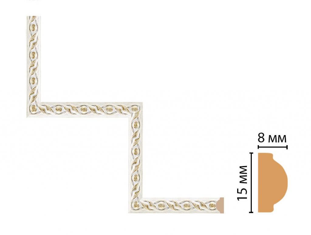Декоративный угловой элемент DECOMASTER 130-1-40