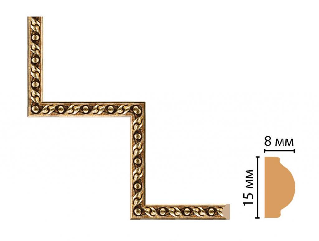 Декоративный угловой элемент DECOMASTER 130-1-43