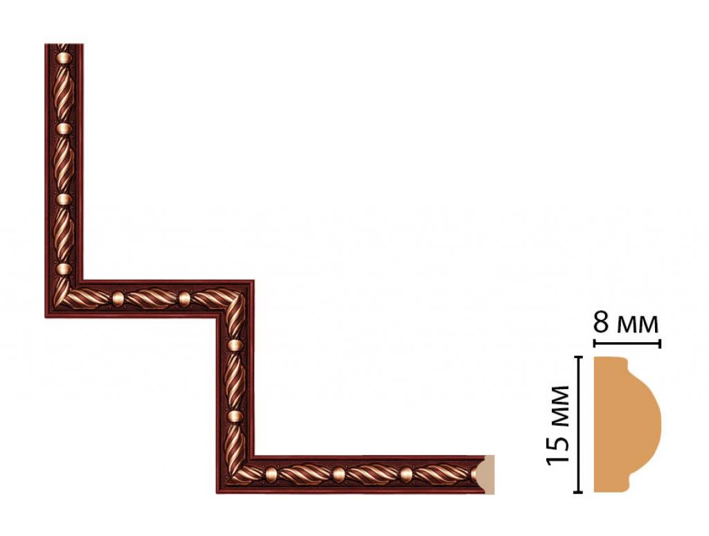 Декоративный угловой элемент DECOMASTER 130-1-52