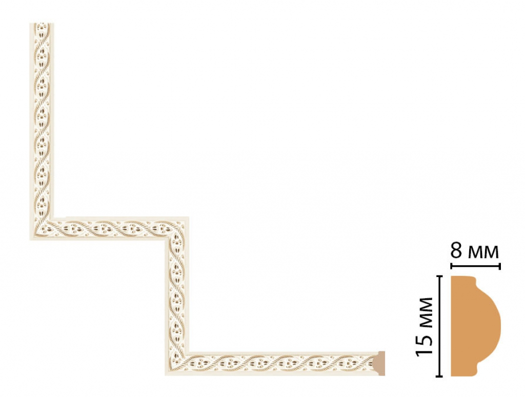 Декоративный угловой элемент DECOMASTER 130-1-6