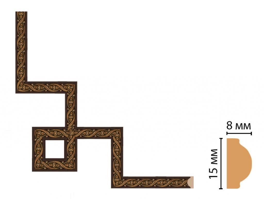 Декоративный угловой элемент DECOMASTER 130-3-1