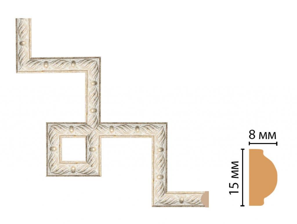 Декоративный угловой элемент DECOMASTER 130-3-18