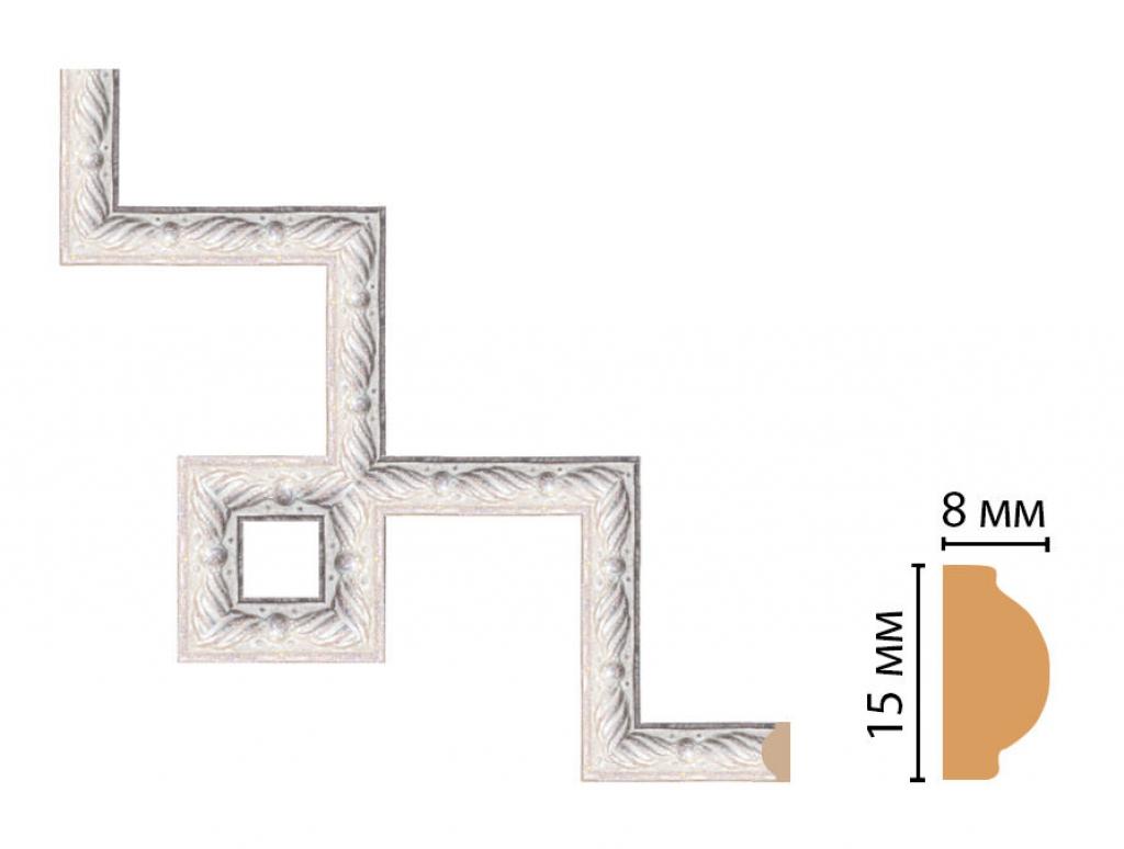 Декоративный угловой элемент DECOMASTER 130-3-19