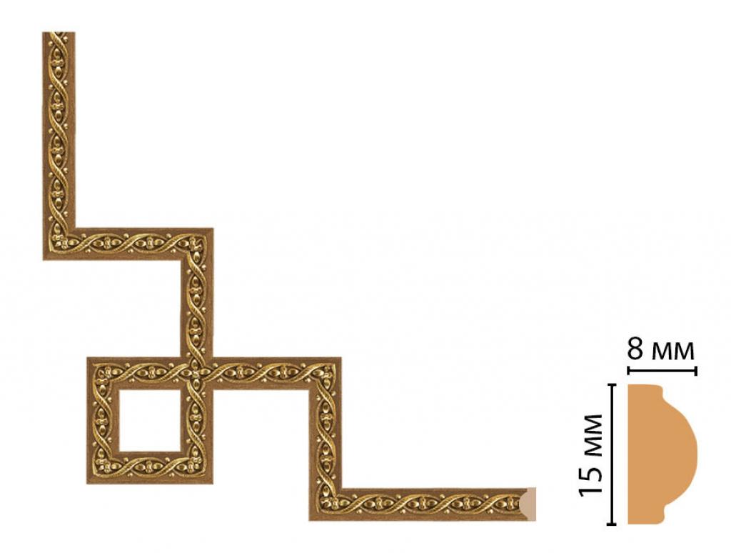 Декоративный угловой элемент DECOMASTER 130-3-4