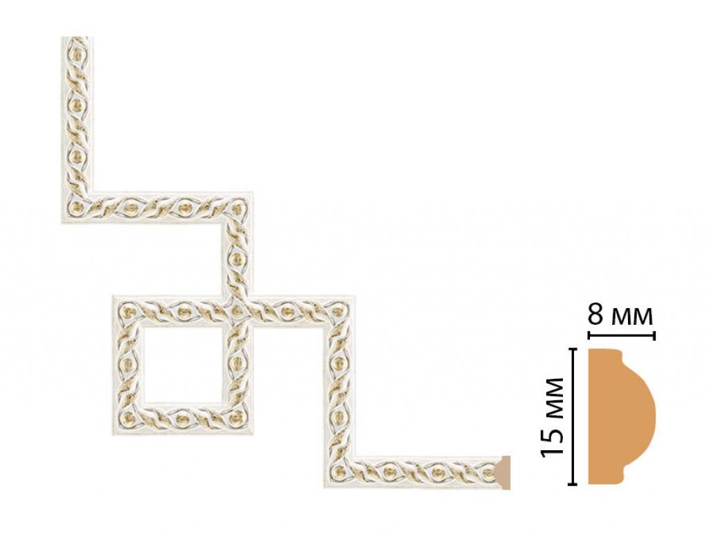 Декоративный угловой элемент DECOMASTER 130-3-40