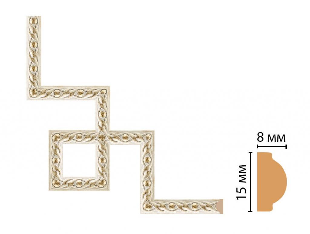 Декоративный угловой элемент DECOMASTER 130-3-41
