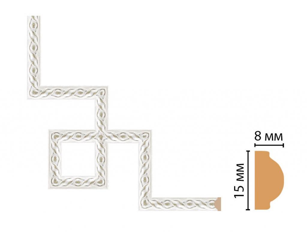 Декоративный угловой элемент DECOMASTER 130-3-42