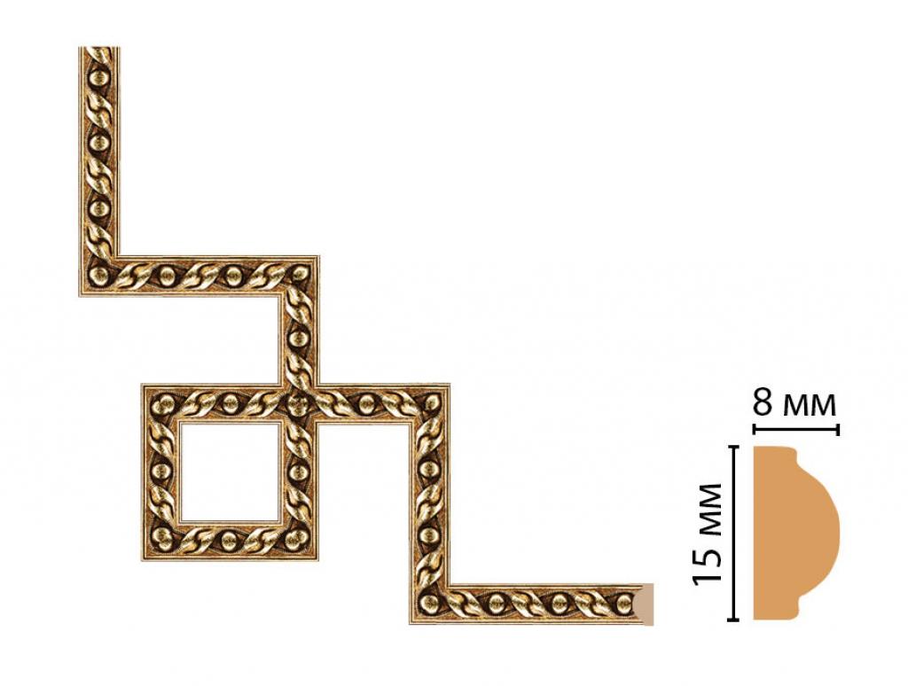 Декоративный угловой элемент DECOMASTER 130-3-43