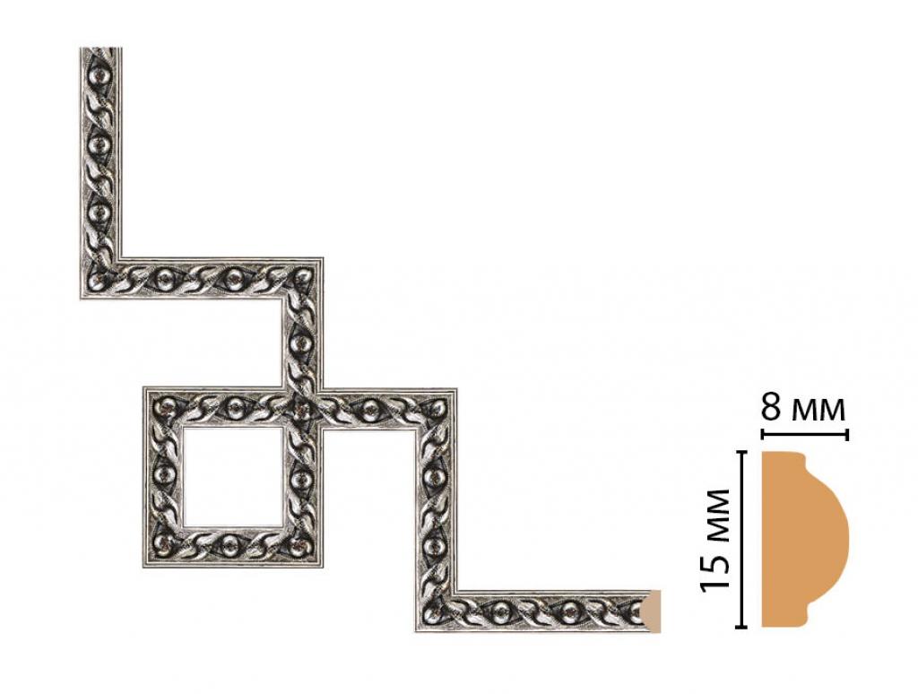 Декоративный угловой элемент DECOMASTER 130-3-44