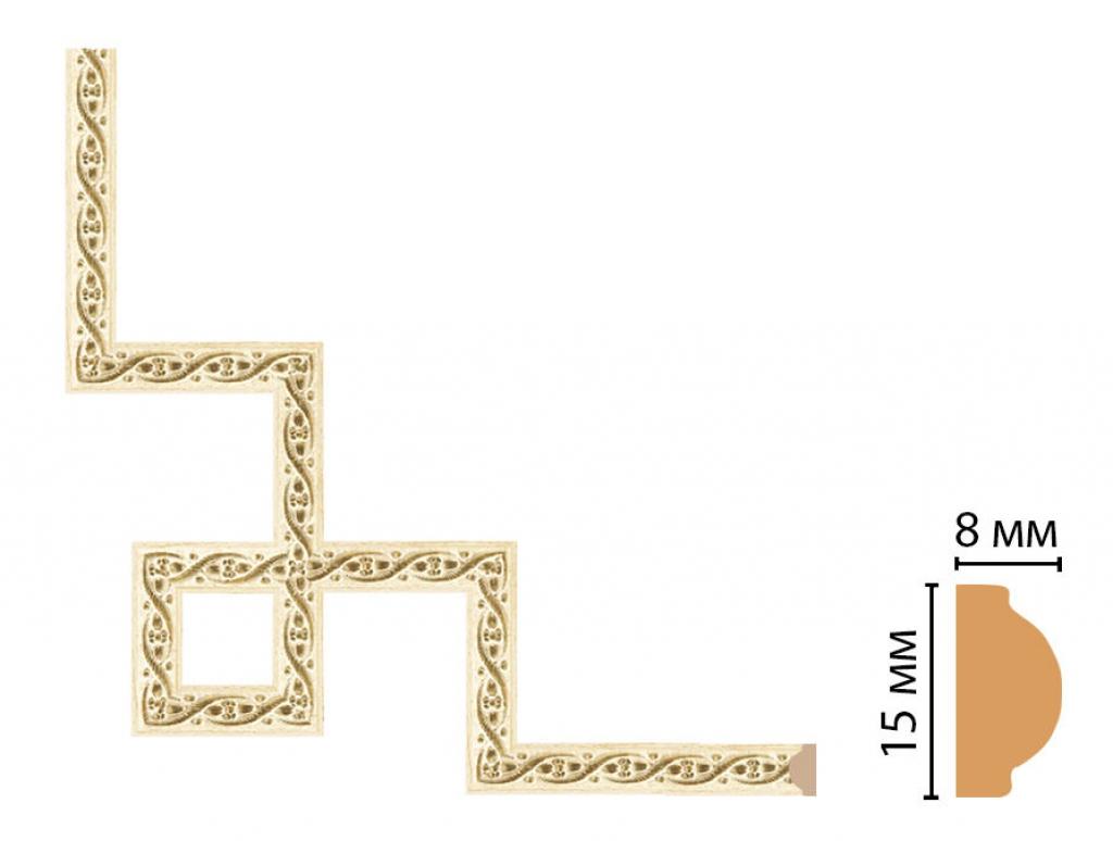 Декоративный угловой элемент DECOMASTER 130-3-5