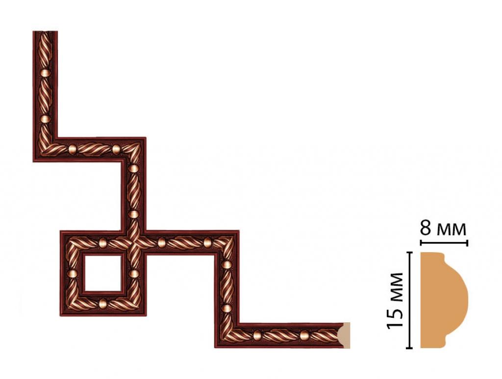 Декоративный угловой элемент DECOMASTER 130-3-52