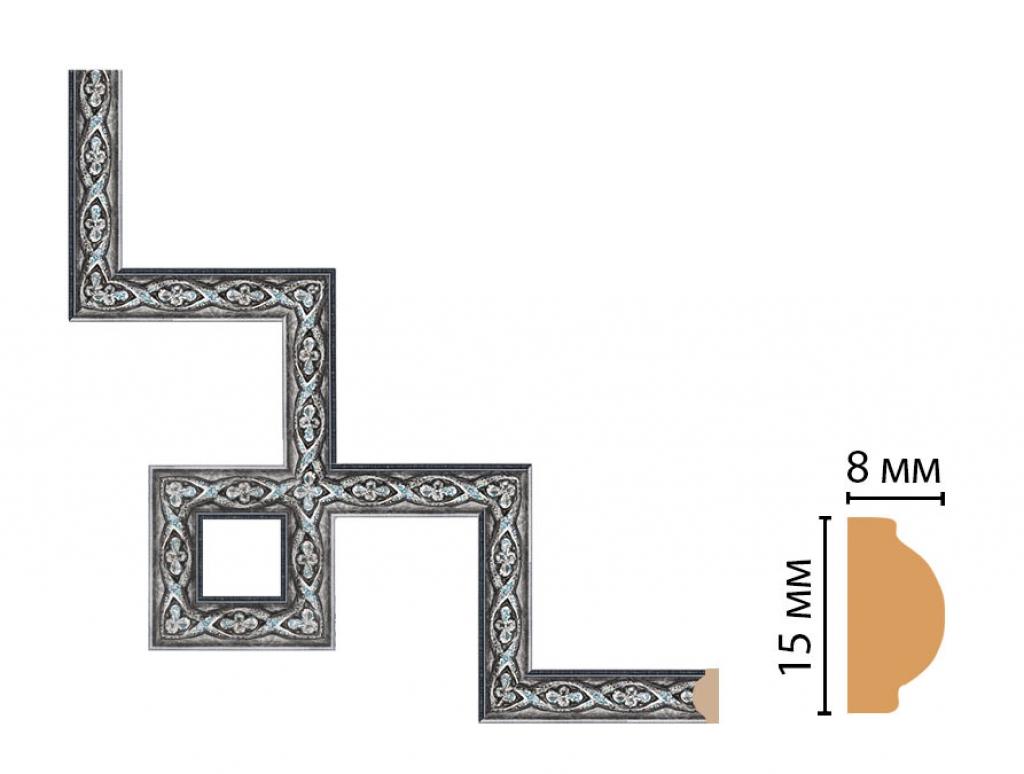 Декоративный угловой элемент DECOMASTER 130-3-55