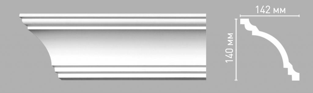 Плинтус потолочный DECOMASTER 96275/20